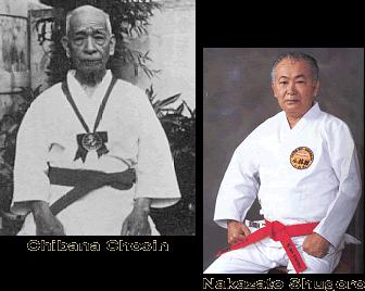 Chibana and Nakazato sensei