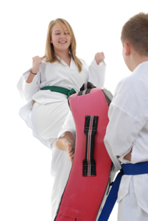 Juniors Karate Kicking Pad