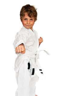 Little Ninjas boy punching