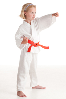 Little Ninjas Girl Punching